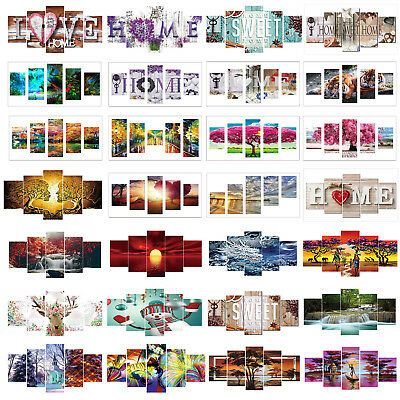 AU Full Drill 5D DIY Diamond Painting Embroidery Cross Wall Decor+ Diamond Tools