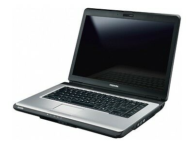 "Toshiba Satellite A300/L300 15.4"" INTEL CORE 2 DUO 4GB RAM 160GB HDD Win7 Webcam"