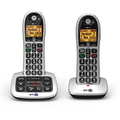 BT 4600 Cordless Telephone with Answering Machine - Twin