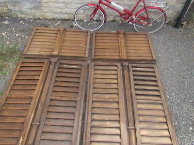 Vintage Wooden Shutters Window Just Stunning Wow Antique French  Reclaimed