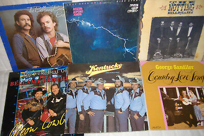 10 LP's Vinyl Paket Dire Straits Johnny Winter Nothin Hillbillies Bellamy Bros