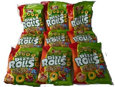 125 Beutel Pizza Rolls Snack a 20 Gramm Giveaway Wurfmaterial ! Top Angebot
