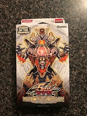 yugioh lost sanctuary structure deck NIB