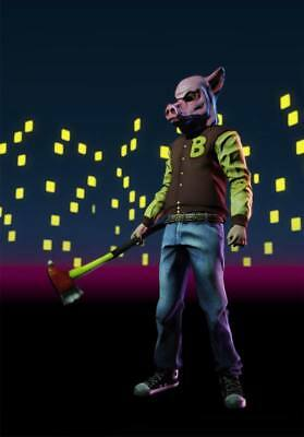 """YX01595 Hotline Miami - Hot Action Video Game 14""""x20"""" Poster"""