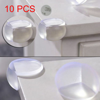 10pcs/Set Child Baby Safe Silicone Protector Table Corner Edge Protection Cover