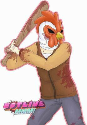 "YX01559 Hotline Miami - Hot Action Video Game 14""x20"" Poster"