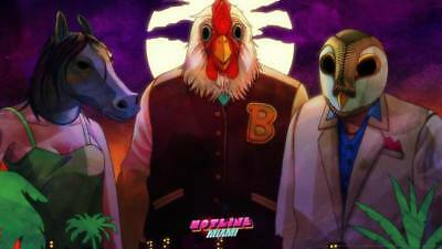 "YX01502 Hotline Miami - Hot Action Video Game 24""x14"" Poster"