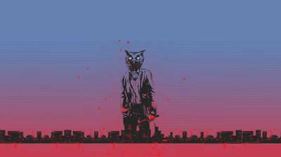 "YX01523 Hotline Miami - Hot Action Video Game 24""x14"" Poster"