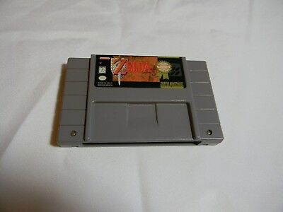 Super Nintendo Authentic Game Card  The legend of Zelda A link to the Past