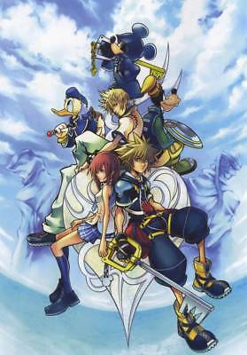 """YX00179 Kingdom Hearts - 1 2 3 Japan Action Role Playing Game 14""""x20"""" Poster"""