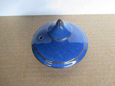 Denby Pottery Imperial Blue LID for Teapot New and Unused Excellent Condition
