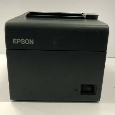 USED Epson TM-T20 POS Thermal Receipt Printer USB Interface 1113P-BLK-U
