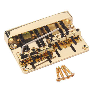 Vintage Style 4 String Electric Bass Bridge for PB JB Bass Replacement Parts