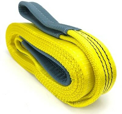 3 Tonne Tow Strap x 12 Metres, Recovery Strap, Tow Rope Car Van Trucks, 3000kg
