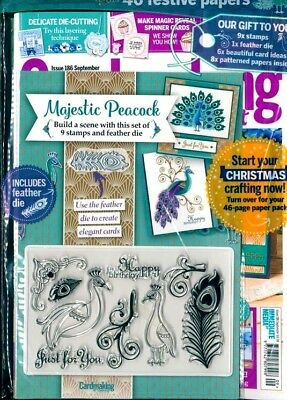 Cardmaking & Papercraft Magazine Issue #186 - September 2018 ~ Sealed With Gifts