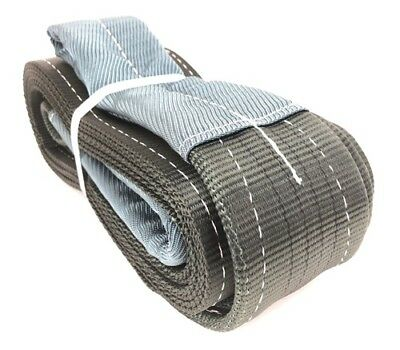 4 Tonne Tow Strap x 12 Metres, Recovery Strap, Tow Rope Car Van Trucks, 4000kg