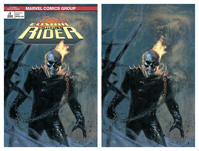 COSMIC GHOST RIDER #1 Dell'Otto Virgin Variant Cover Set Marvel 1st Print NM