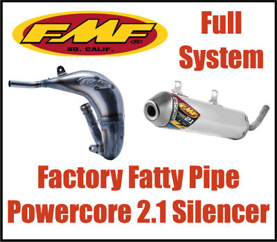 NEW FMF FACTORY Fatty pipe Powercore 2 1 Silencer KTM 150 SX 2016-2018