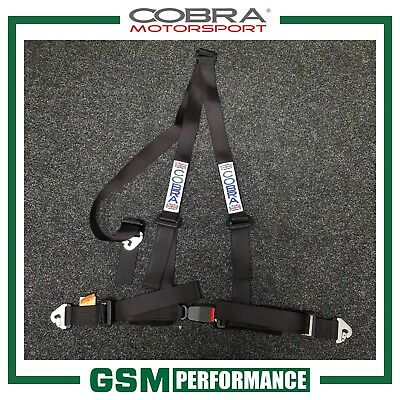 Cobra 3 Point Trackday Harness / Black