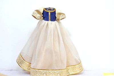 "Vintage Madame Alexander tagged Snow White Dress with Cape EX for 14"" doll"