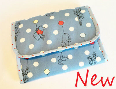 Foldable baby travel changing mat for bag -Cath Kidston Winnie the Pooh & dots