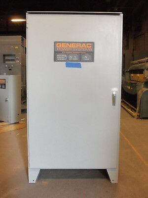 Generac 800 Amp Automatic Transfer Switch ATS 480v 3 Phase Pole
