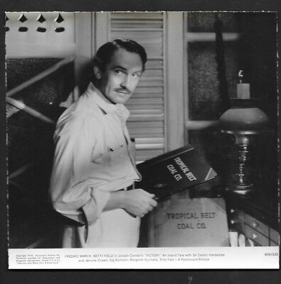 Press Photograph 1941 Celebrity Actor Fredric March *8908