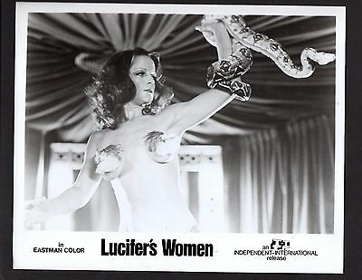 "Press Photograph 1978 Movie ""Lucifer's Women ""Clair Dia"" *2430"