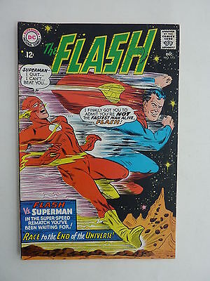 The Flash #175 VFN - 1968. The issue with Superman.