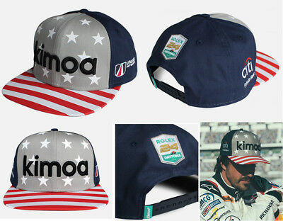 Fernando Alonso Rolex Daytona 24Hr Kimoa Cap Cap New -Free Uk Shipping
