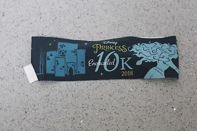 Brand New 2018 Disney Enchanted 10K Merida Sweaty Band FREE S&H