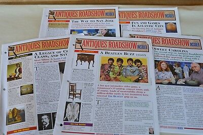 5 ANTIQUES ROADSHOW INSIDER Newsletters July – Nov 2009 Vol 9 #7-11
