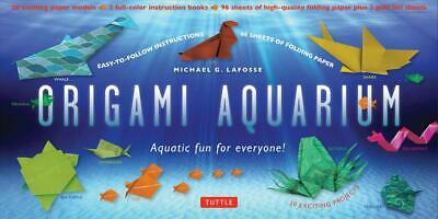 Origami Aquarium Kit: Aquatic fun for everyone!: Kit with Two 32-page Origami Bo
