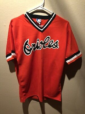 best authentic 87391 95281 VINTAGE BALTIMORE ORIOLES Rare Mlb Pro Knit Jersey Throwback Retro 70s 80s