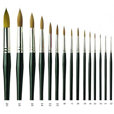 Pro Arte - Professional Sable Blend Brushes - Round - Series 100 - Watercolour
