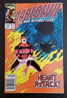 Daredevil #254 (1988 Marvel) *origin & 1St App Of Typhoid Mary* (Newsstand)...