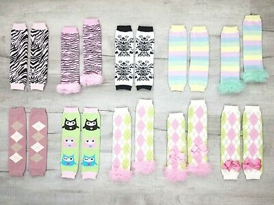 10 Options! * Girl Prints * Leg Warmers / Arm Warmers Unisex Baby & Toddler
