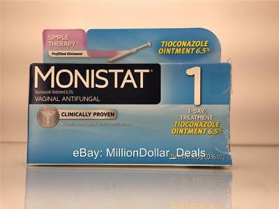 4 Pk Monistat 3 Vaginal Antifungal Combination Pack 3 Day Treatment
