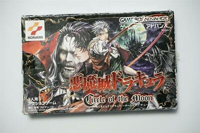 Game Boy Advance Castlevania Circle of the Moon boxed Japan GBA Game US Seller