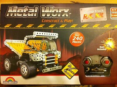 Remote Control Dump Truck,construct & Play ! Tools Included ! Fun For All Ages !