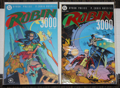 DC Robin 3000 # 1-2 COMPLETE SET - Preiss & P Craig Russell - Elseworlds