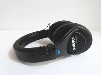 """Shure SRH440 Headphones - Includes Case, Cable, 1/4"""" Adapter"""