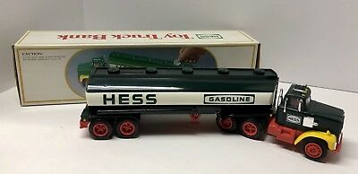 1984 Hess Toy Truck Bank - Original Box