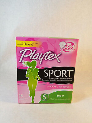 Playtex Tampon Sport Super Uns 18ct