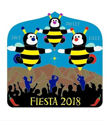 Offical Little Bee Fiesta 2018 Balloon Pin