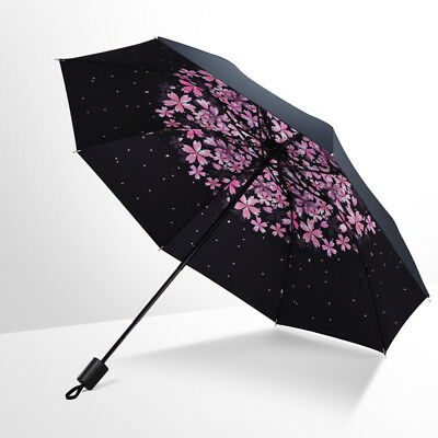 Folding Waterproof Compact Super Windproof Anti-UV Rain Sun Travel Umbrella GL7