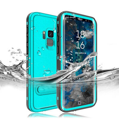 Waterproof Luxury Full 360° Stand Case Cover For Samsung Galaxy Note 9 S8 Plus