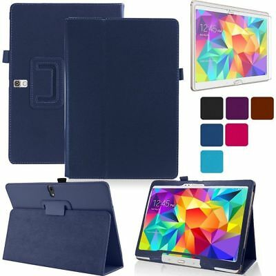 """AU For Samsung Galaxy Tab A A6 7"""" 8.0 10.1"""" Tablet Flip Leather Smart Cover Case"""