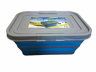 Collapsible Large Tub with Lid Camping Hiking