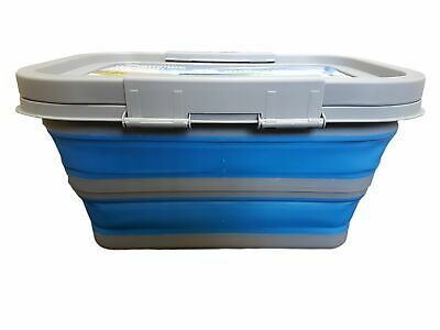 Collapsible Medium Tub with Lid Camping Hiking
